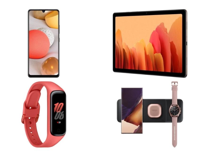 三星发布多款新品,包含一款可同时向三台设备充电的充电板